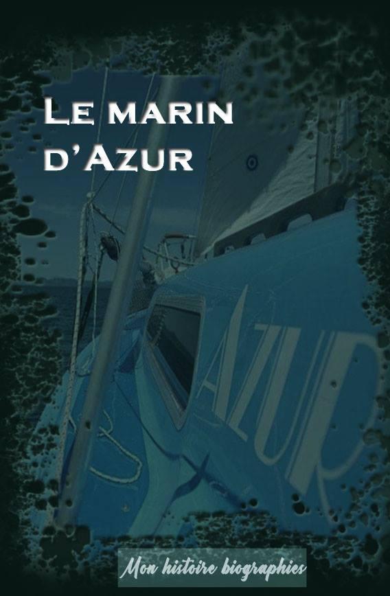 Le marin d'azur - Livre